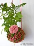A lovely idea for a planter...