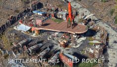 Realistic Settlements in Fallout 4 by Wasteland Angel Fallout 4 Secrets, Fallout 4 Tips, Fallout Four, Fallout New Vegas, Fallout 4 Weapons, Fallout Theme, Fallout 4 Settlement Ideas, Skyrim Game, Vault 111