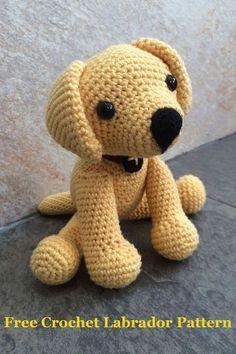 Puppy haken met patroon