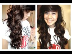 Beachy Waves Hair Tutorial... This girl is sooo goofy  but it's still an awesome tutorial!