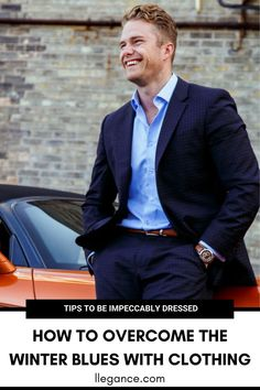Not sure How To Overcome the Winter Blues? LLEGANCE will teach you how to boost your mood by wearing certain garments to work. Workwear Fashion, Mens Fashion Suits, Fashion Menswear, Fashion Fall, Fall Outfits For Work, Winter Outfits For Work, Business Casual Men, Men Casual, Different Suit Styles