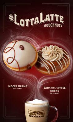 #LottaLatte doughnuts