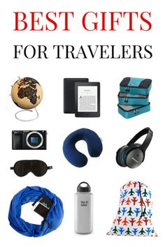 51 Best Gifts for Travelers in 2017 -Shop at Stylizio for luxury designer handbags, leather purses and wallets. Women's and Men's watches, jewelry, sunglasses and other accessories. Fine gold and 925 sterling silver rings, necklaces, earrings. Gift ideas for women and men!