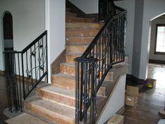 iron stairscase