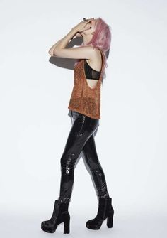 Witchy Grunge Lookbooks - The Evil Twin Winter 2012 Collection is 90s-Inspired (GALLERY)