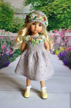 Одежда для кукол ручной работы. НАРЯД ДЛЯ ЛЮБИМОЙ КУКЛЫ. Надежда. Интернет-магазин Ярмарка Мастеров. Платье для куклы, бусины