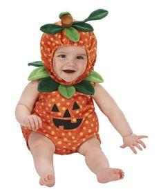 Look what I found on #zulily! Orange & Green Pumpkin Dress-Up Set - Infant by Just Pretend Kids #zulilyfinds