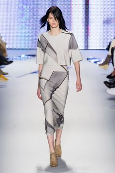 Défile Lacoste prêt-à-porter automne-hiver 2014-2015, New York #NYFW #Fashionweek