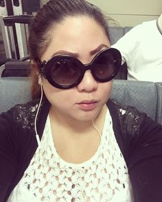 Had to get up at 7 this morning to take the BART to Pleasanton at 8. Not a happy camper right now cuz I absolutely HATE taking public transportation. At least I have Boob for company.   #selfie #me #justme #asian #girl #asiangirl #prada #baroque #pradabaroque #sunglasses #sunnies #onBART #angryface by got_titties