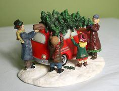 Christmas Village Accessories.  St. Nicholas by AnythingDiscovered