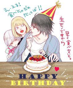 Happy birthday L! n_n