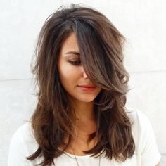 Image result for medium length hairstyles with movement