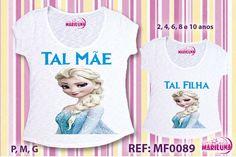 Camisetas Tal Mãe Tal Filha 50% Off em compras acima de R$200,00 atacadoem toda loja Mariluna Camisetas Personalizadas.