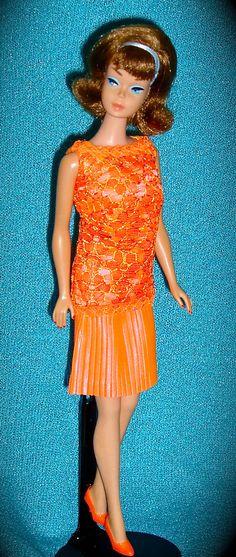 Side Part Barbie in Disco Dater