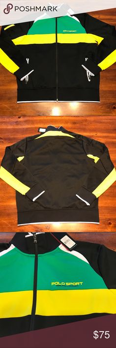 Polo by Ralph Lauren Polo Sport Track jacket NWT Polo by Ralph Lauren Polo Sport Track jacket NWT Size Large Polo by Ralph Lauren Jackets & Coats