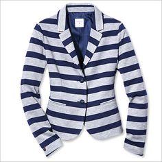 Spring Fashion Trends -- Stripes: Gap Blazer