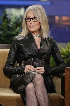 Diane Keaton: she has a great sense of style!