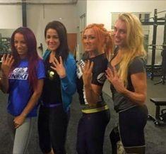 Wwe Ladies, Wwe Girls, Wrestling Divas, Women's Wrestling, Pamela Martinez, Daniel Bryan Wwe, Becky Wwe, Wwe Sasha Banks, Rebecca Quin