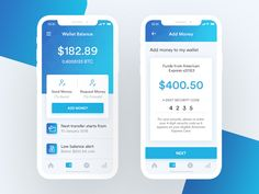 Bitcoin - Wallet Balance clean request send button balance add wallet iphone x ios money App Ui Design, Mobile App Design, Bitcoin Wallet, My Wallet, Retro Logos, Financial Institutions, Blockchain, Cryptocurrency, Investing