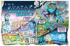 O planeta Pandora fica longe? Problema não! A gente importa os seus habitantes pro Brasil!