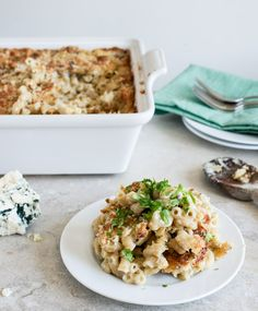 Blue Cheese Mac and Cheese.