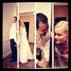 Different wedding pictures