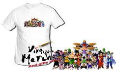 CAMISETA-DRAGON-BALL-PERSONAJES-bola-de-dragon-tshirt-t-shirt-xxl-mujer-nino-kid
