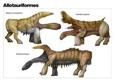 The Diversity of Allotaurs by nemo-ramjet on deviantART