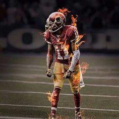 DeSean Jackson has blazing speed!