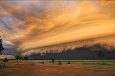 September 2012: Storm front over Brinard Station, Queensland. Photo: Gina Harrington