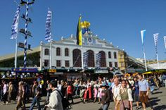 Hofbrau-Tent at Oktoberfest - Munich. One of the best weeks I don't remember having.