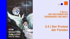 """2.5.Der Protest der Fürsten - """"DIE REFORMATION VERÄNDERT DIE WELT""""   VOM SCHATTEN ZUM LICHT mit Pastor Mag. Kurt Piesslinger - Die Jahre 1529 und 1530 markieren eine bedeutsame Zeit der Reformation. In Worms war Luther 1521 noch völlig allein gestanden. Nun sind es deutsche Fürsten, die gegen die kaiserliche Unterdrückung des Evangeliums protestieren. Von nun an gelten sie als Protestanten, da sie nicht willens sind, ihrem neuen Glauben abzuschwören. Lieber sterben diese evangelischen…"""