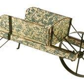 Old fashioned wheelbarrow