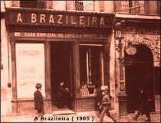"""Minha Estrada: História da """"bica""""e a """"A Brasileira"""""""
