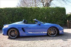 Boxster Spyder, Porsche Boxster, Porsche Sports Car, New Porsche, Cool Sports Cars, Custom Decals, Fast Cars, Cars, Sports