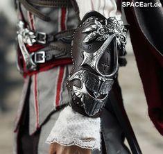 Assassins Creed II: Ezio Auditore, Voll bewegliche Deluxe-Figur ... http://spaceart.de/produkte/asc001.php
