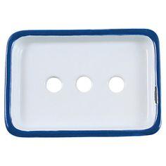 Tinware Soap Dish $7.50 on smartfurniture.com