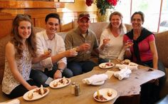 Enjoying cheese and bubbly at the girl & the fig during the Sonoma Food & Wine Tour (Sarah Stierch, CC BY 4.0)