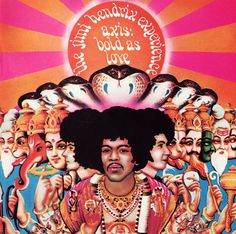 jimmy hendrix album artwork 1967