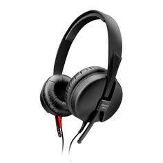 Audífonos Sennheiser Negros Mod. HD 25-SP II *Hasta agotar existencias* Estos audífonos te permiten escuchar tu música cómodamente y sin interrupciones, incluso en ambientes con ruido, gracias a su diseño que cubre la oreja