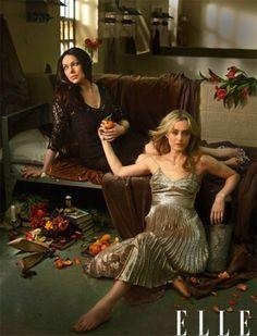 Laura Prepon + Taylor Schilling for Elle