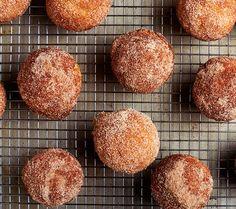 Like a cinnamon-sugar doughnut in muffin form. You've been warned.