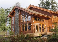 You can never have too much porch space Moceri Construction | Custom Home Builder Bellingham, WA