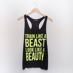 RESTOCKED! Train Like a Beast Tank Perfect for a workout! 😊 No trades. No lowball offers. Will ship by 1/11. Tops Tank Tops