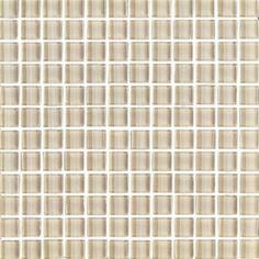 "#Interceramic - Interglass Shimmer Beach 1"" x 1"" Mosaic"