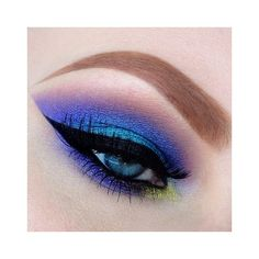 Would be interesting for a photoshoot | Smokey Eyes- Pink & Purple |... ❤ liked on Polyvore featuring beauty products