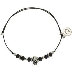 BRACELET TETE DE MORT - BRACELETS/Bracelets Cordon - DORIANE Bijoux