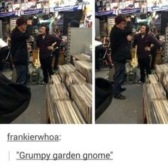 """He looks like an angry mom """"I WANT TO SEE THE MANAGER!"""""""
