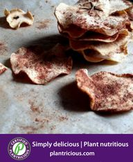 Spiced Baked Apple Chips Recipe on Apple Chips, On The Go Snacks, Baked Apples, Food 52, Nutritious Meals, Plant Based Recipes, Sweet Treats, Spices, Baked Chips