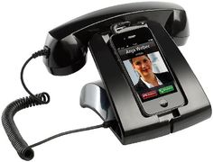 Callstel Retro-moderner Telefonständer für Handys & Smartphones :: ztyle – Außergewöhnliche Geschenk-Ideen und Gadgets